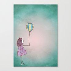 One Ballon Canvas Print