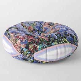 CEANOTHUS JULIA PHELPS ABSTRACT Floor Pillow