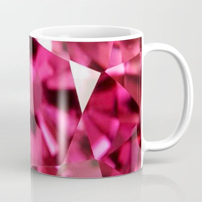 VERY PINK SAPPHIRE OCTOBER BABY'S BIRTHSTONE ART Coffee Mug
