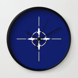 Shark NATO Wall Clock