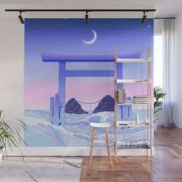 Floating World Wall Mural