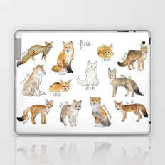 Foxes Laptop & iPad Skin