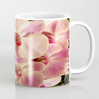 orchid Mugs featuring orchid by Bitifoto