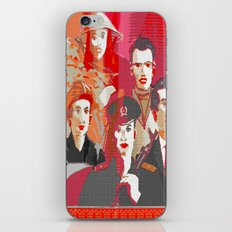Tinker, Tailor, Soldier, Spy  iPhone & iPod Skin