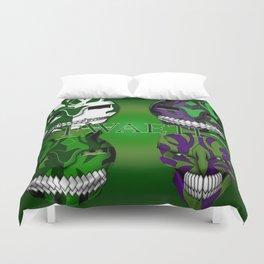 Green eyed Monster (Generation) Duvet Cover