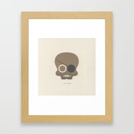 Nick Fury Framed Art Print