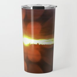Alaska Midnight Sunset Travel Mug
