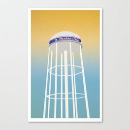 Bentonville Vintage Canvas Print