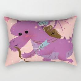 Fly Your Way Rectangular Pillow