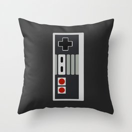 8-bit Freak Throw Pillow