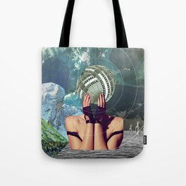 atmosphere 45 · in a gadda da vida Tote Bag