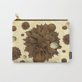 Chocolate Asteroids Carry-All Pouch
