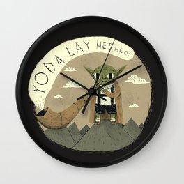 yodaling (grey colour option) Wall Clock