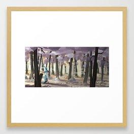 the wizard Framed Art Print