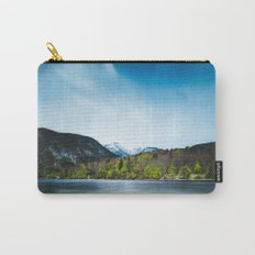 Lake Bohinj with Alps in Slovenia Carry-All Pouch