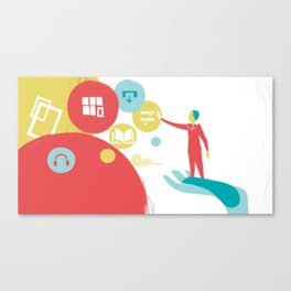 User Experience Canvas Print