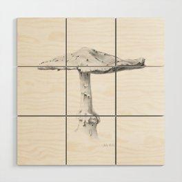 Mushroom #1 Wood Wall Art