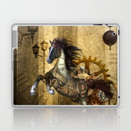 Awesome steampunk horse Laptop & iPad Skin