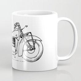 Motorcycle Patent Art Coffee Mug