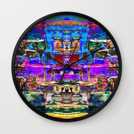 Castle of Laughter Wall Clock