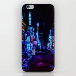 Blue and Purple nights iPhone Skin