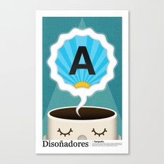 Dreamigners | Typography Canvas Print