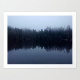 Old Reflections Art Print