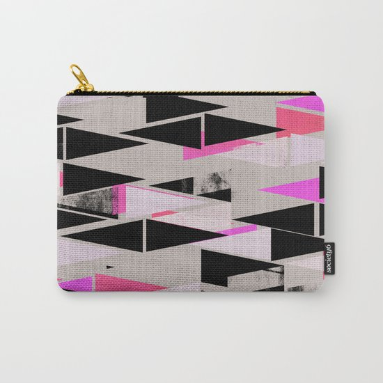 Pink Triangles II Carry-All Pouch