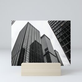 ArtWork New York City Print Work black white Mini Art Print