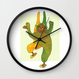 dancing rabbit Wall Clock
