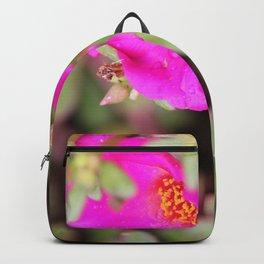 Neon Flower Backpack