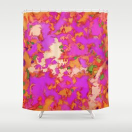 Flammable surface Shower Curtain