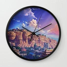 Konoha Village Wall Clock