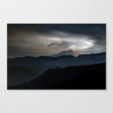 Vulcan Etna Canvas Print