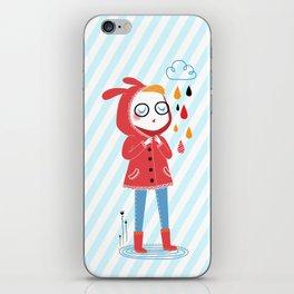 Pluie iPhone Skin