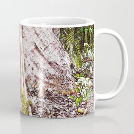 Buttress root in the rainforest Coffee Mug