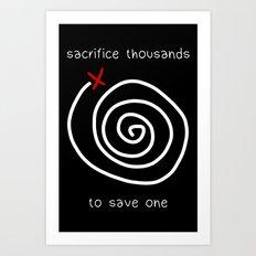 Life is Strange - Sacrifice Thousands Art Print