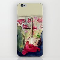 video games iPhone & iPod Skins featuring Girls & Video Games by Danielle Feigenbaum