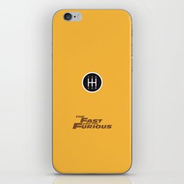 Lab No. 4 - The Fast and the Furious Movie Inspire Quotes Poster iPhone Skin