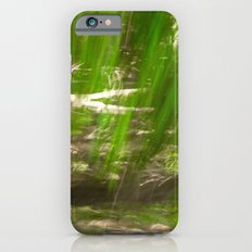 Green Feathers iPhone 6s Slim Case
