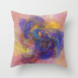 Love of Colours Throw Pillow