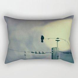 City Crow - Dark Crows Series Rectangular Pillow