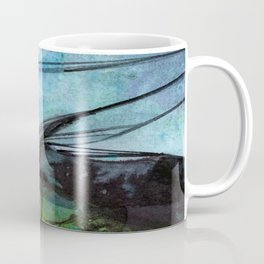 Watercolor Abstraction No.223F by Kathy Morton Stanion Coffee Mug