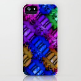 Colorful Balls Abstract iPhone Case