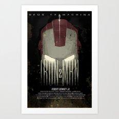 Iron Man 2 Art Print