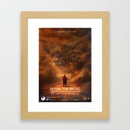 Beyond The Bounds: Deities and Mortals – Teaser Promo Framed Art Print