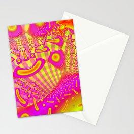 LollyPoP 3D Fused Glass Fractal Stationery Cards