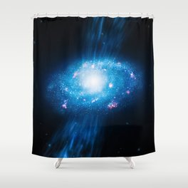 Young Galaxy Shower Curtain