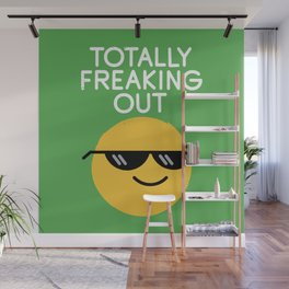 Froze Colored Glasses Wall Mural