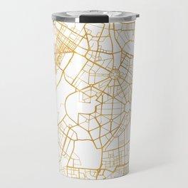 NEW DELHI INDIA CITY STREET MAP ART Travel Mug